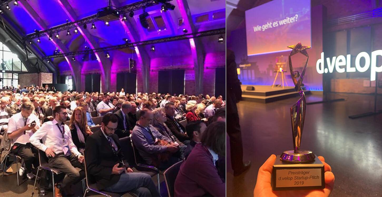 Talee und Mercury.ai beim «d.velop forum 2019»
