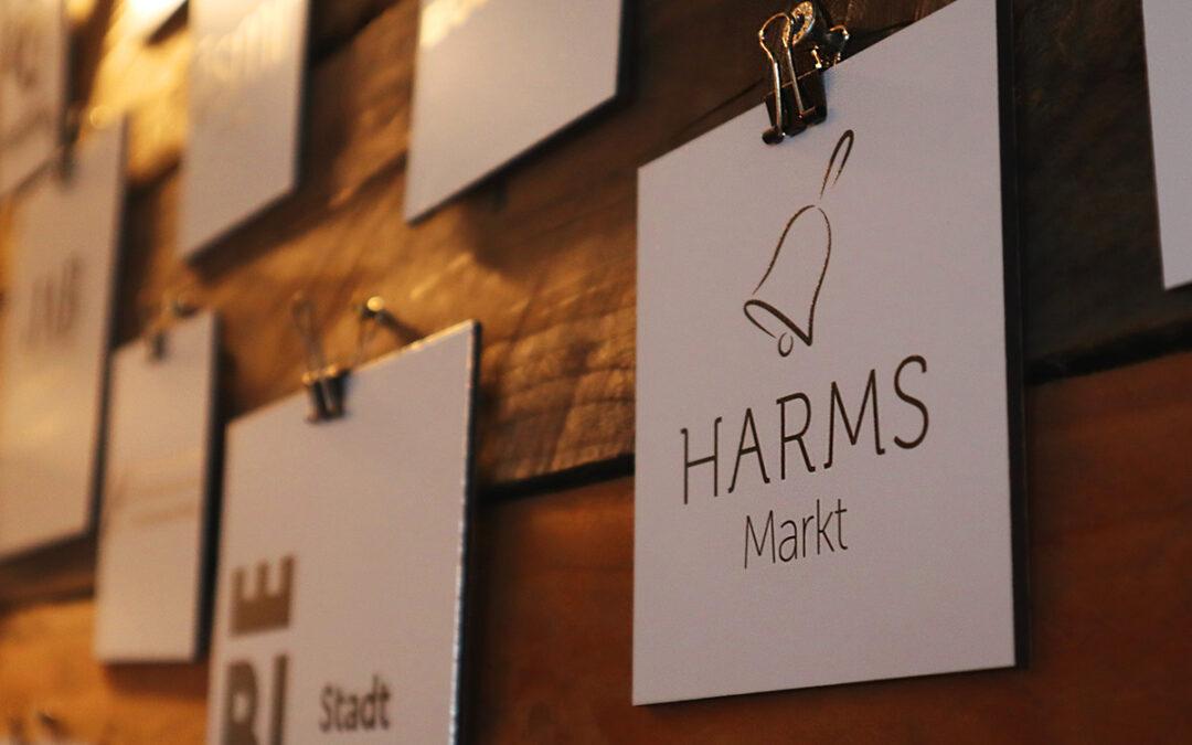 Wir eröffnen einen Markt: Der Harms Markt kommt!