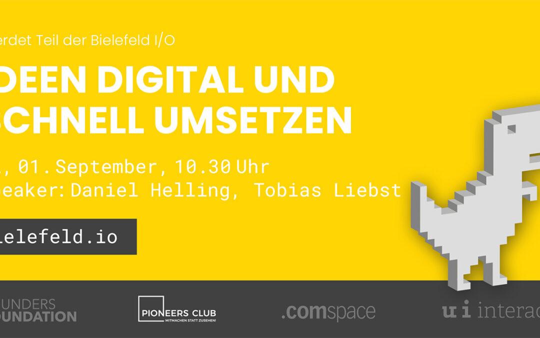 Bielefeld I/O Tag 2 – IONE