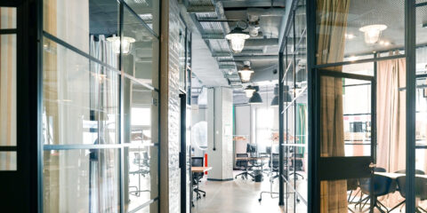 Industrial Style trifft auf Coworking-Space